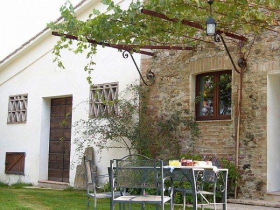 Umbrien Ferienwohnung La Taverna Garten