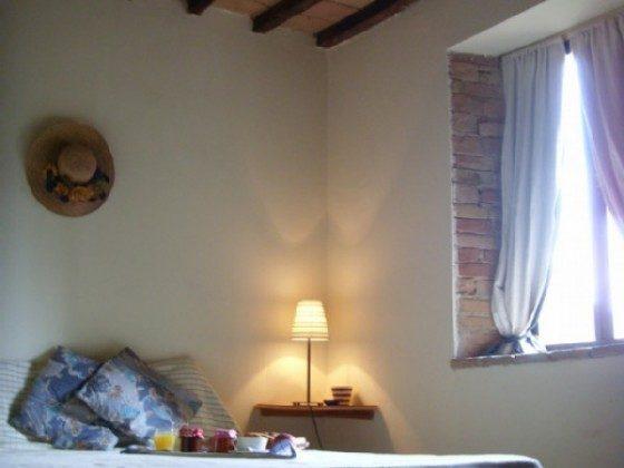 Umbrien Ferienwohnung La Cantina Schlafzimmer