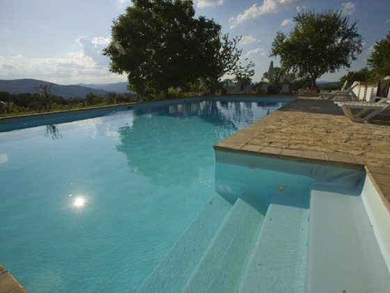 Umbrien Perugia Ferienwohnungen Umbertide Pool