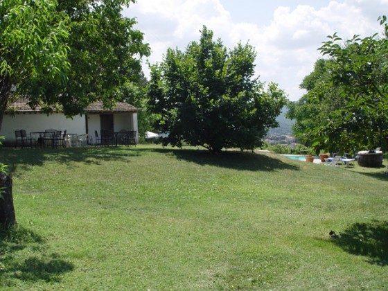 Umbrien Perugia Ferienwohnungen Umbertide Garten