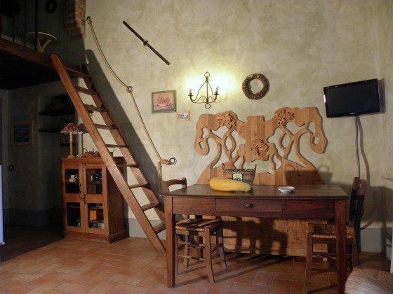 Wohnbereich Fienile Ferienh�user Ref. 160037-1