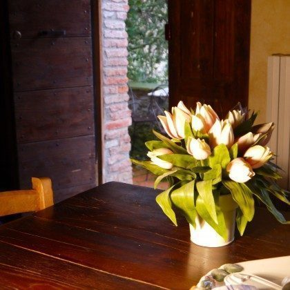 Blick zur Veranda Torretta Ferienhäuser Ref. 160037-1