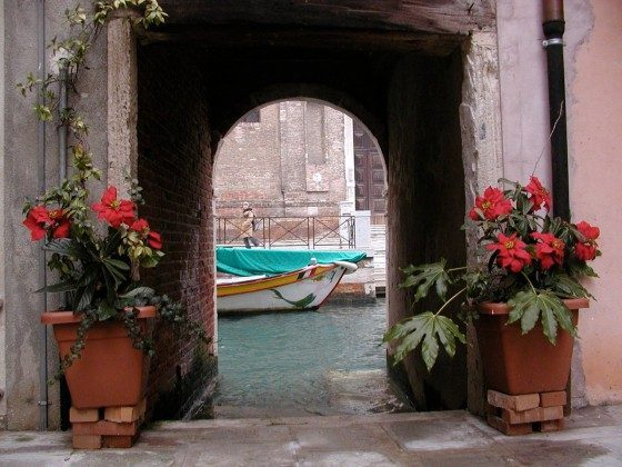 Innenhof \\\'Venedig Appartment Marziale