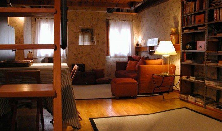Wohnbereich \\\'Venedig Appartment Marziale