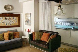 Wohnraum Apartment Venedig