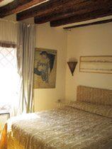 Schlafzimmer Ferienwohnung Venedig
