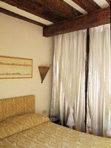 Schlafzimmer Apartment Venedig