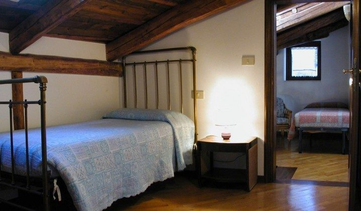Schlafzimmer Venedig Ferienwohnung Tole