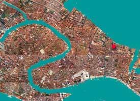 Stadtplan Venedig Ferienwohnung Tole