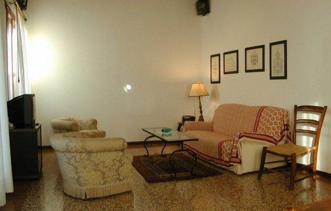 Wohnzimmer Venedig Ferienwohnung Tole