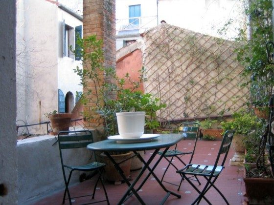 Terrasse Appartment Carmini