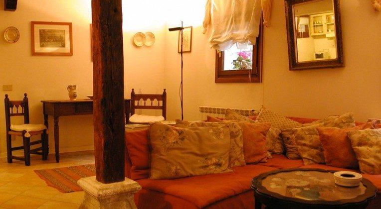 Wohnzimmer Venedig Ferienwohnung mit Terrasse
