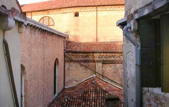 Blick Venedig Ferienwohnung San Marco