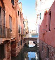 Kanal Venedig Ferienwohnung San Marco