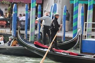 Gondelfahrer Venedig Ferienwohnung San Marco