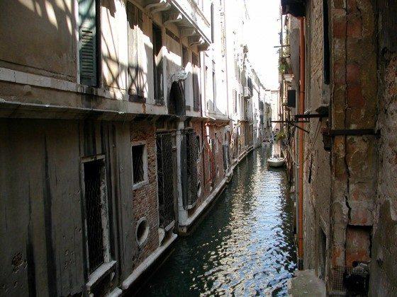 Kanal Venedig Ferienwohnung Dose