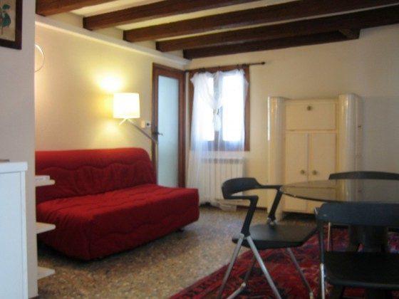 Italien Venetien S. Marco Ferienwohnung S. Maurizio, Wohnzimmer