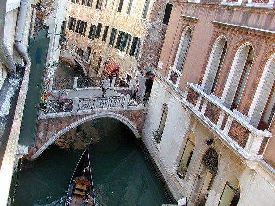 Blick Venezianische Ferienwohnung