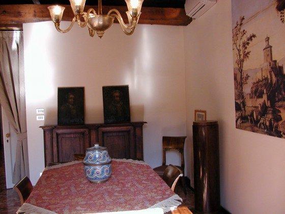 Wohnzimmer Venezianische Ferienwohnung