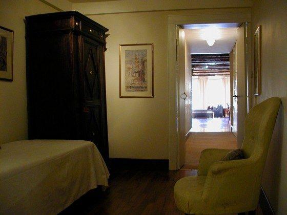 Schlafzimmer 1 Venezianische Ferienwohnung