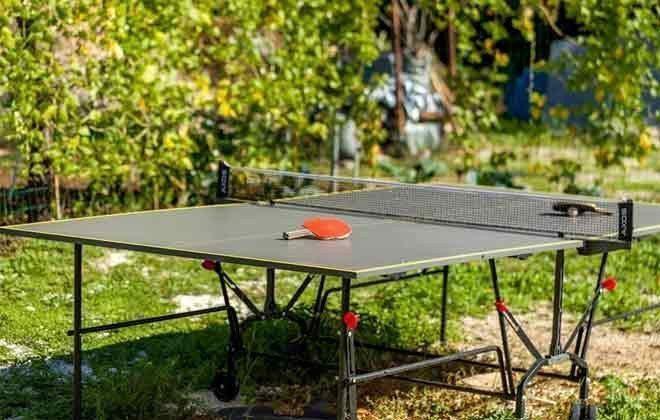 Tischtennisplatte im Garten - Objekt 138495-28