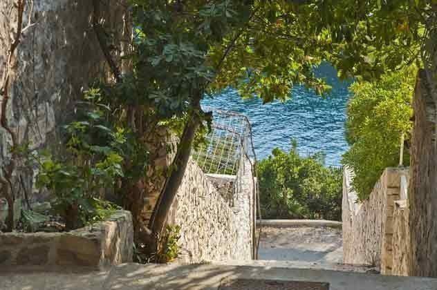 Treppen zum Meer