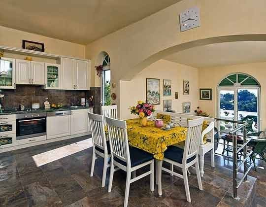 Wohnküche im Obergeschoss