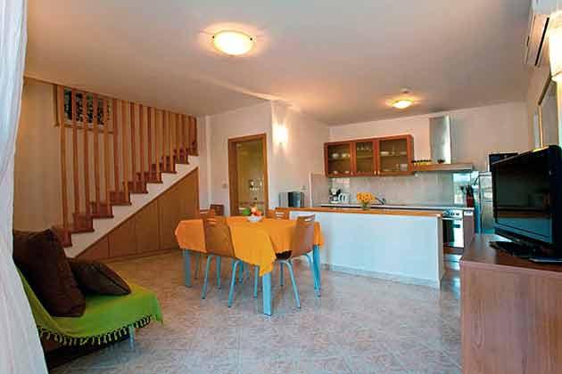 Wohnküche im Erdgeschoss - Objekt 138495-9