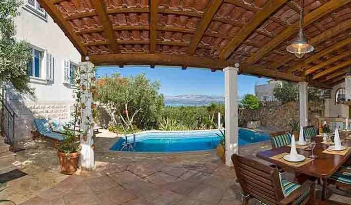 überdachte Terrasse mit Meerblick - Objekt 138495-19