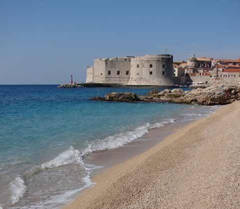 Dubrovniks Strand Banje