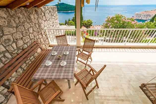 Ferienwohnung Dalmatien mit nahegelegener Tennisanlage