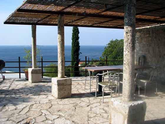 Ferienhaus Dalmatien mit Parkplatz