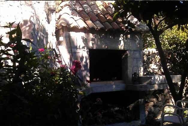 gemauerter Gartengrill - Ref  2001-62