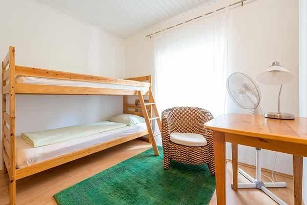 Schlafzimmer mit Etagenbett - Objekt 201117-2