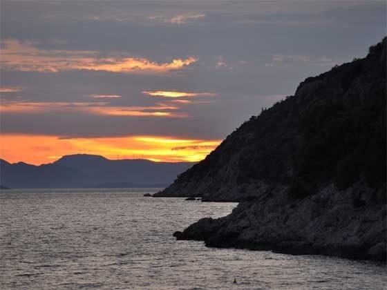 Bucht von Orasac - Abendstimmung  - Objekt 201117-2