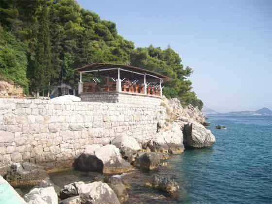 Restaurant am Strand von Orasac - Objekt 201117-2