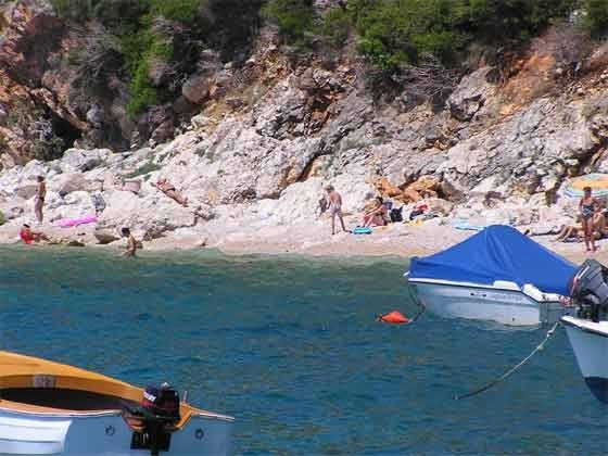 Weg zum Strand von Orasac - Objekt 201117-3