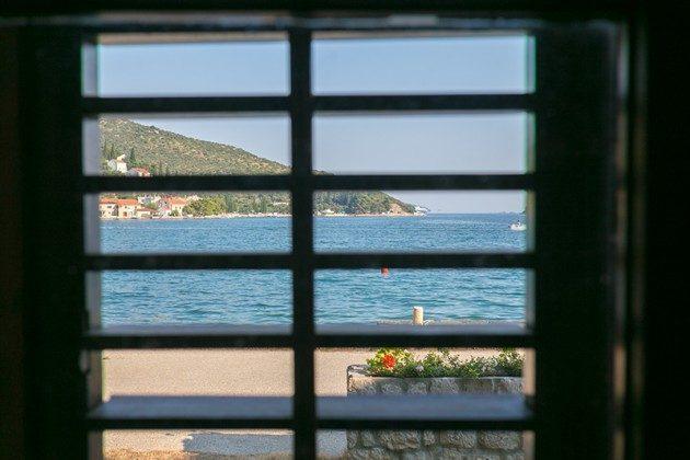 Blick aus einem der Fenster im Erdgeschoss - Objekt 94599-40