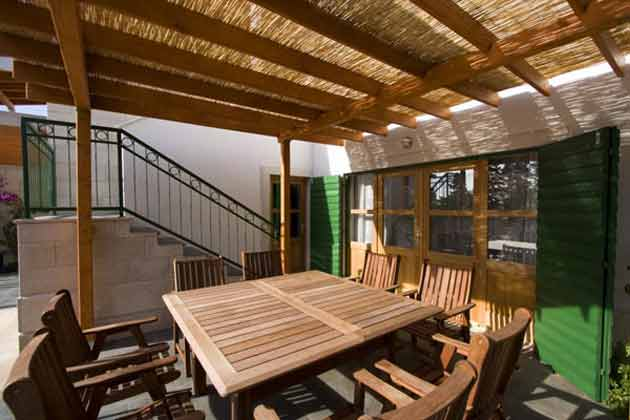 Ferienhaus Dane Terrasse