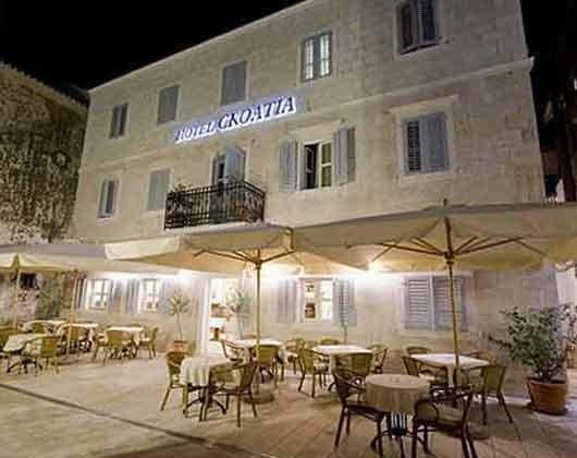 Zimmer Dalmatien mit Parkplatz