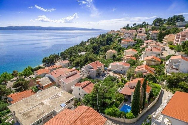 Ferienhaus Dalmatien mit Kamin