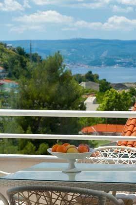Blick vom Balkon Beispiel