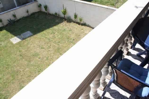 Apartment 3 Blick vom Balkon