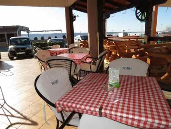 Terrasse des das Restaurants - Objekt 100272-1