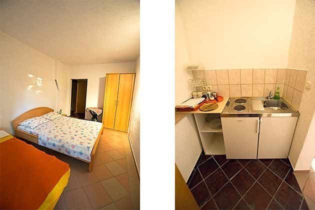 Studio 1 Schlafbereich und Kochnische - Objekt 173302-10