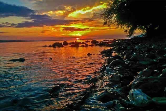 Sonnenutergang Riviera Paklenica  - Objekt 173302-18