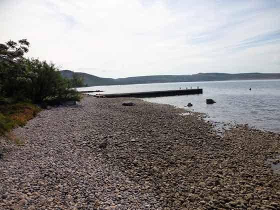 Strand  ca. 80 m vom Haus - Bild 1 - Objekt 173302-23