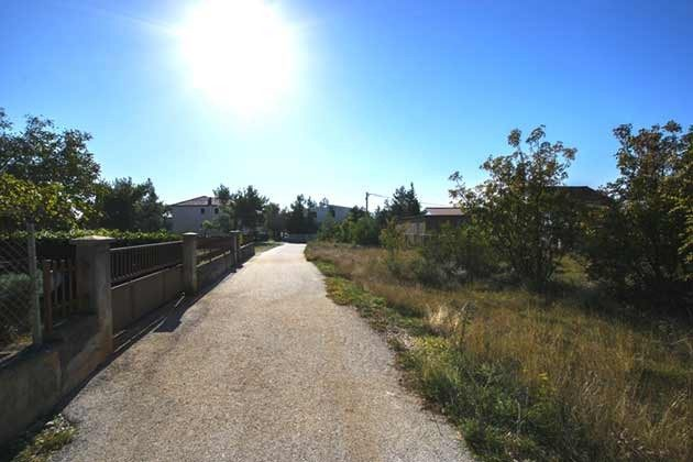 Zufahrtsstraße zum Haus