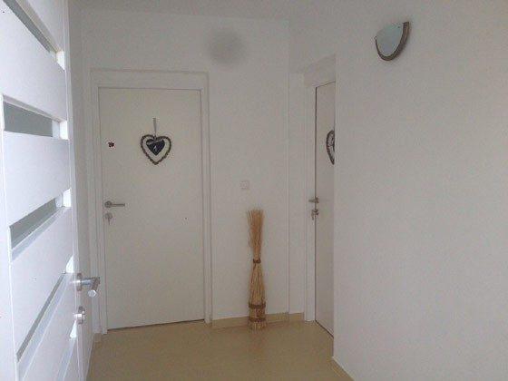 Eingang zu den Apartments