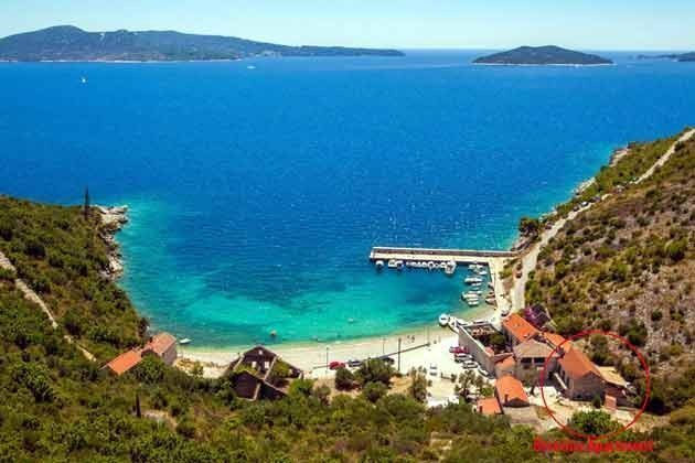 Kroatien Brsecine Ferienwohnung am Strand